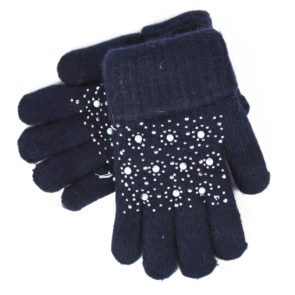 Как украсить перчатки стразами своими руками 32