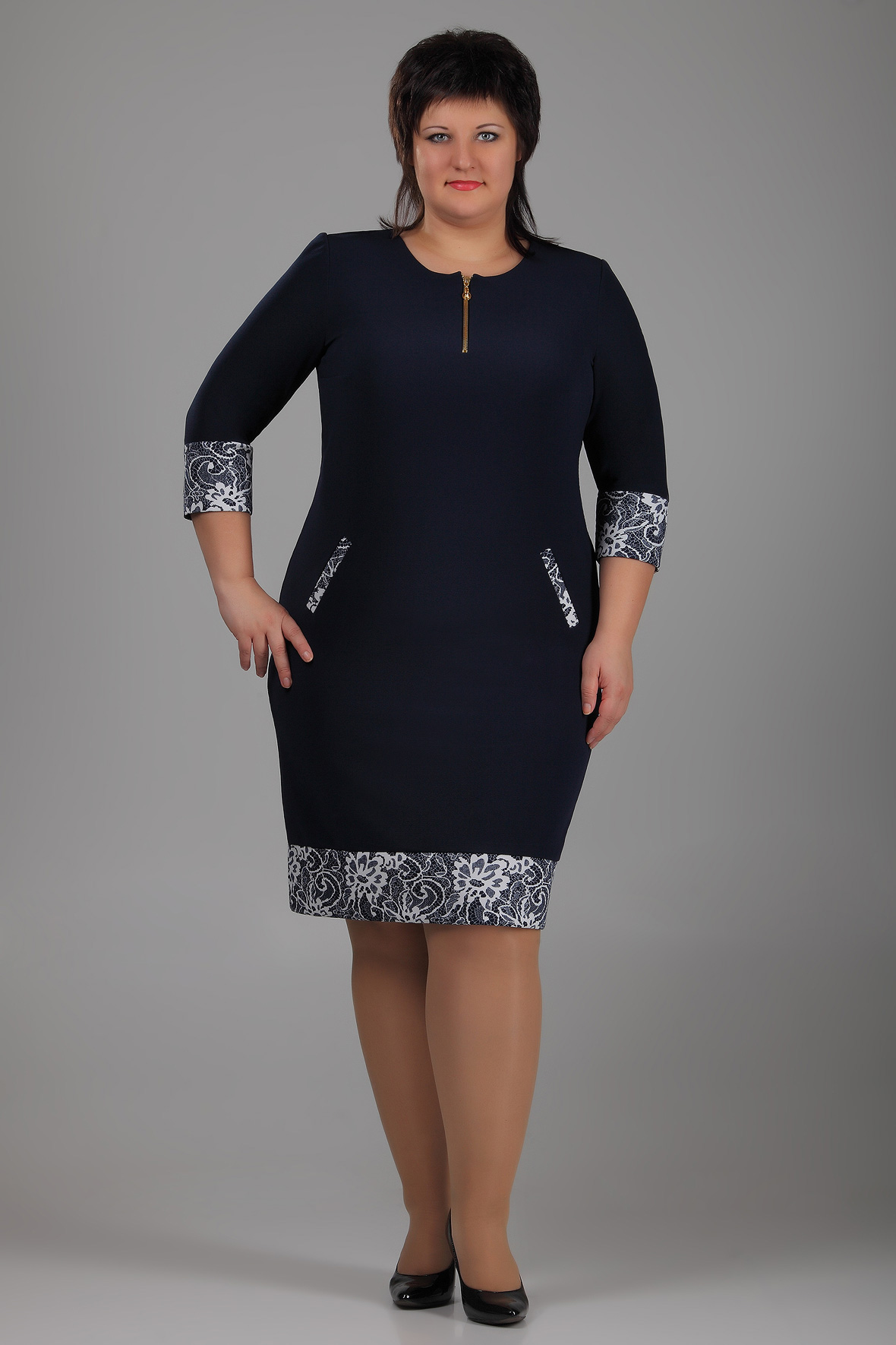 Женская Одежда Больших Размеров Алмонд Доставка