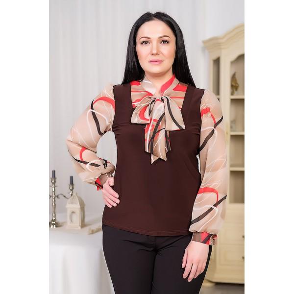 Купить Красивые Блузки Больших Размеров