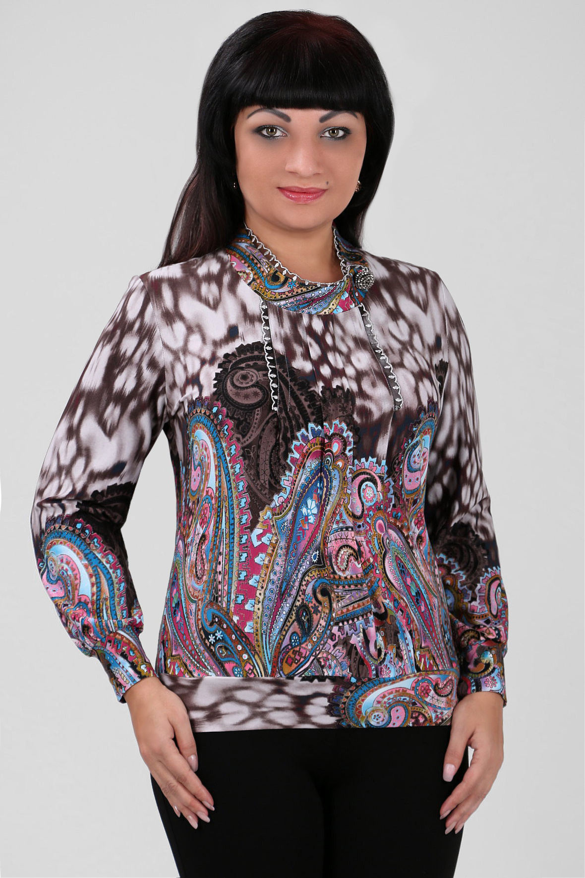 Блузка 60 Размер В Красноярске