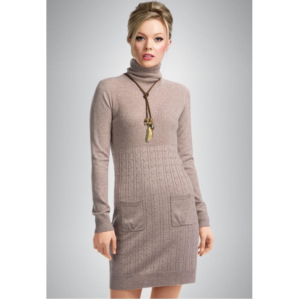 Kdj75 платье женское m pink fog