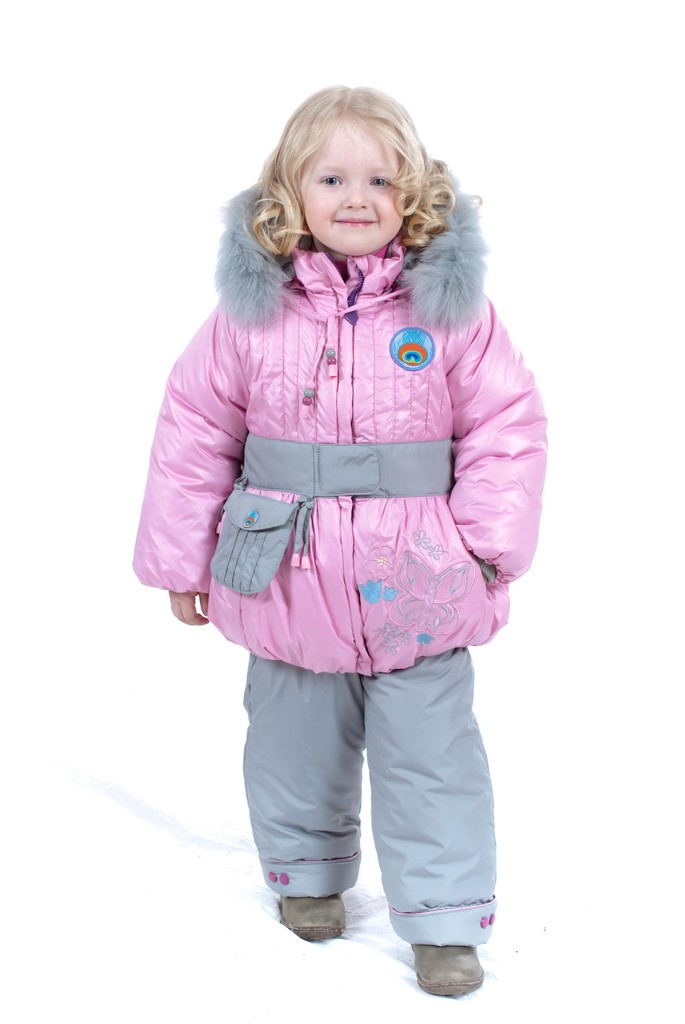 Верхняя зимняя одежда для девочек 1