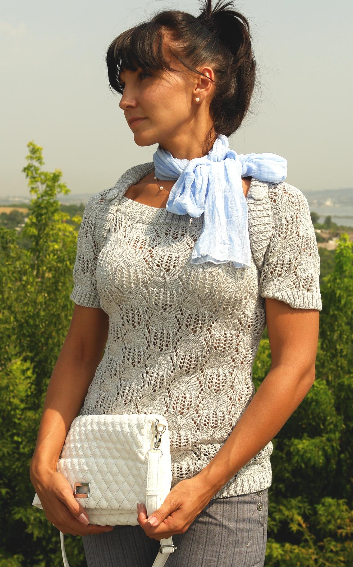 Блузки Вязанные