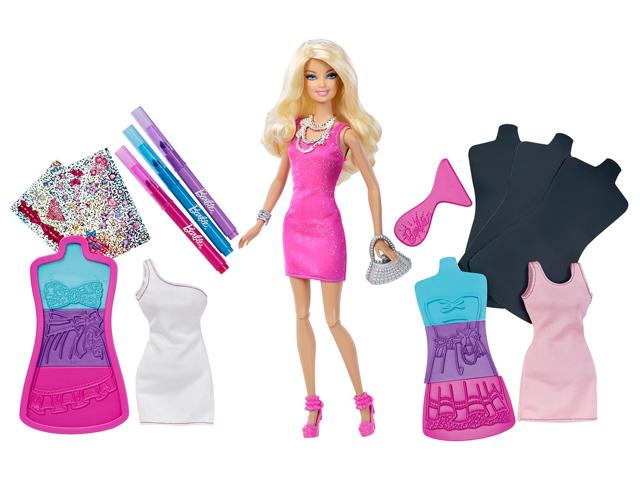 Барби дизайн платьев