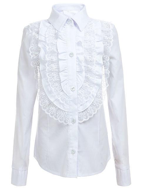 Купить Белую Блузку С Жабо В Нижнем Новгороде