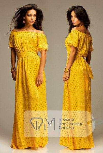 Фото длинных платьев из штапеля