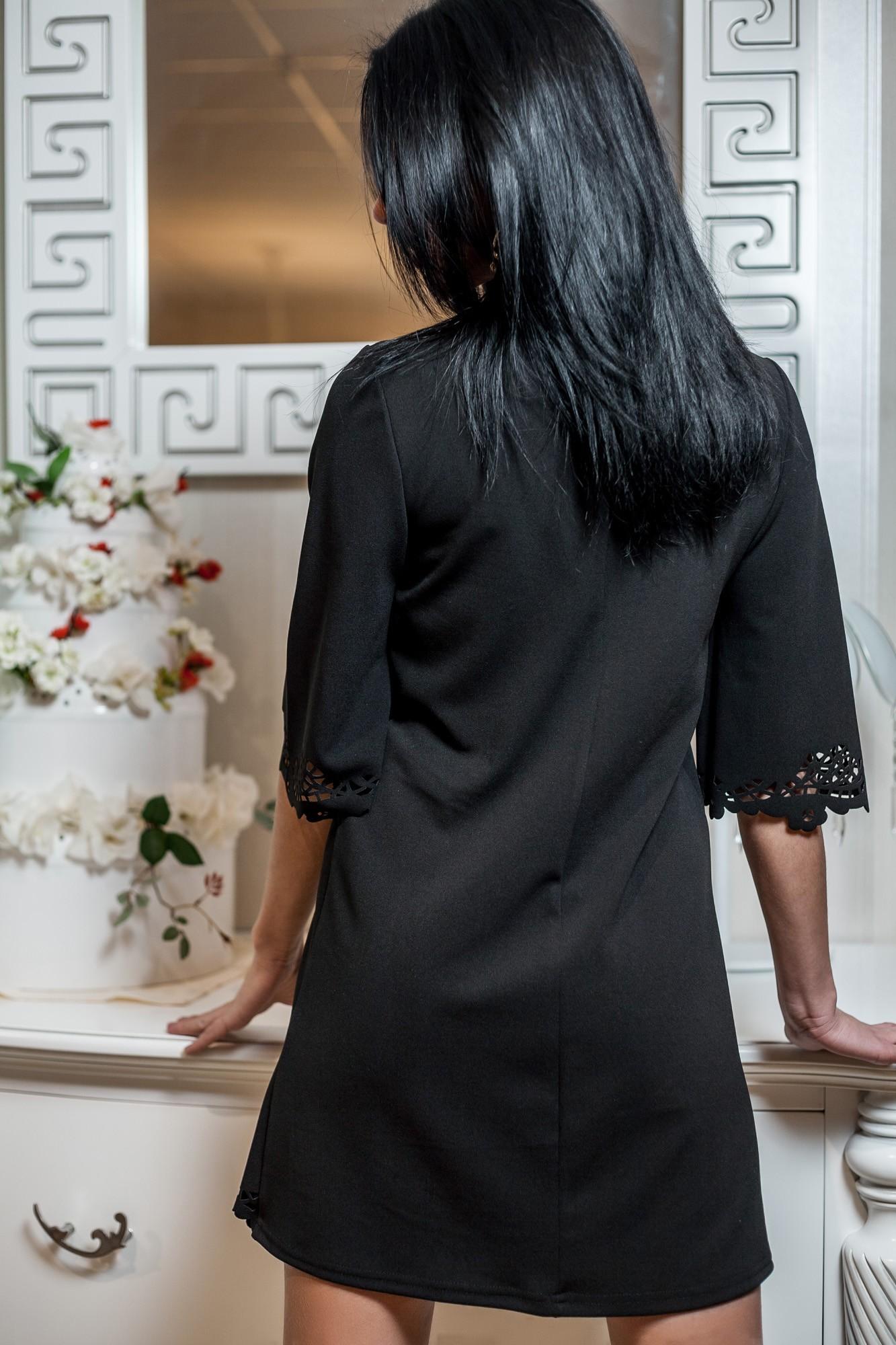Платье Туника С Перфорацией
