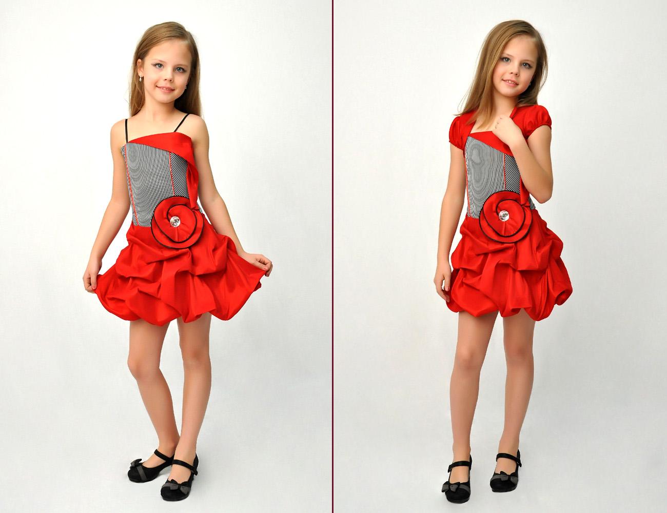 Модель платья на новый год для девочек