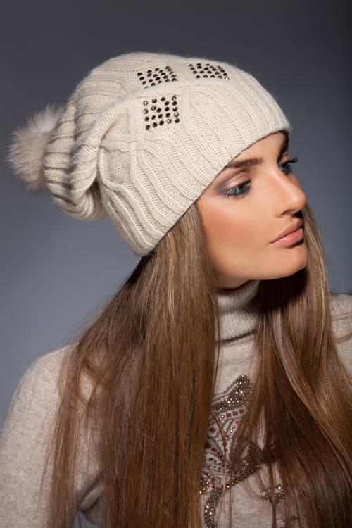 Купить шапку модную женскую