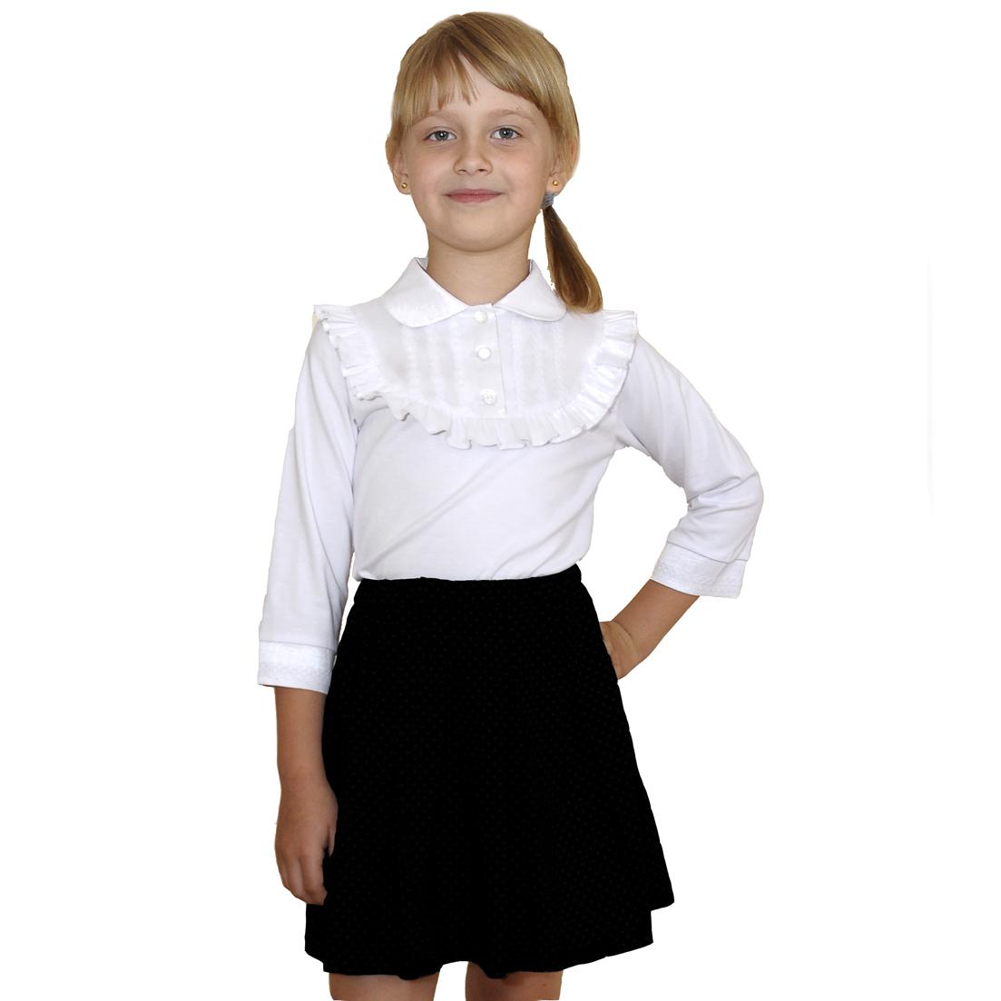 Белая Блузка Для Девочки В Нижнем Новгороде