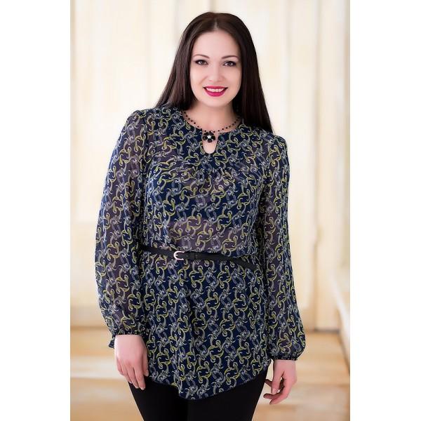 Модные блузки 2017 размер 54-56