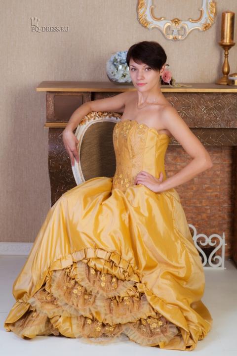 платья с омбре