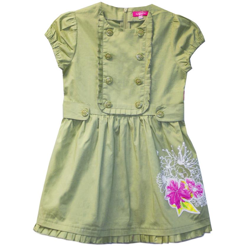 Зимние платья для девочек 5
