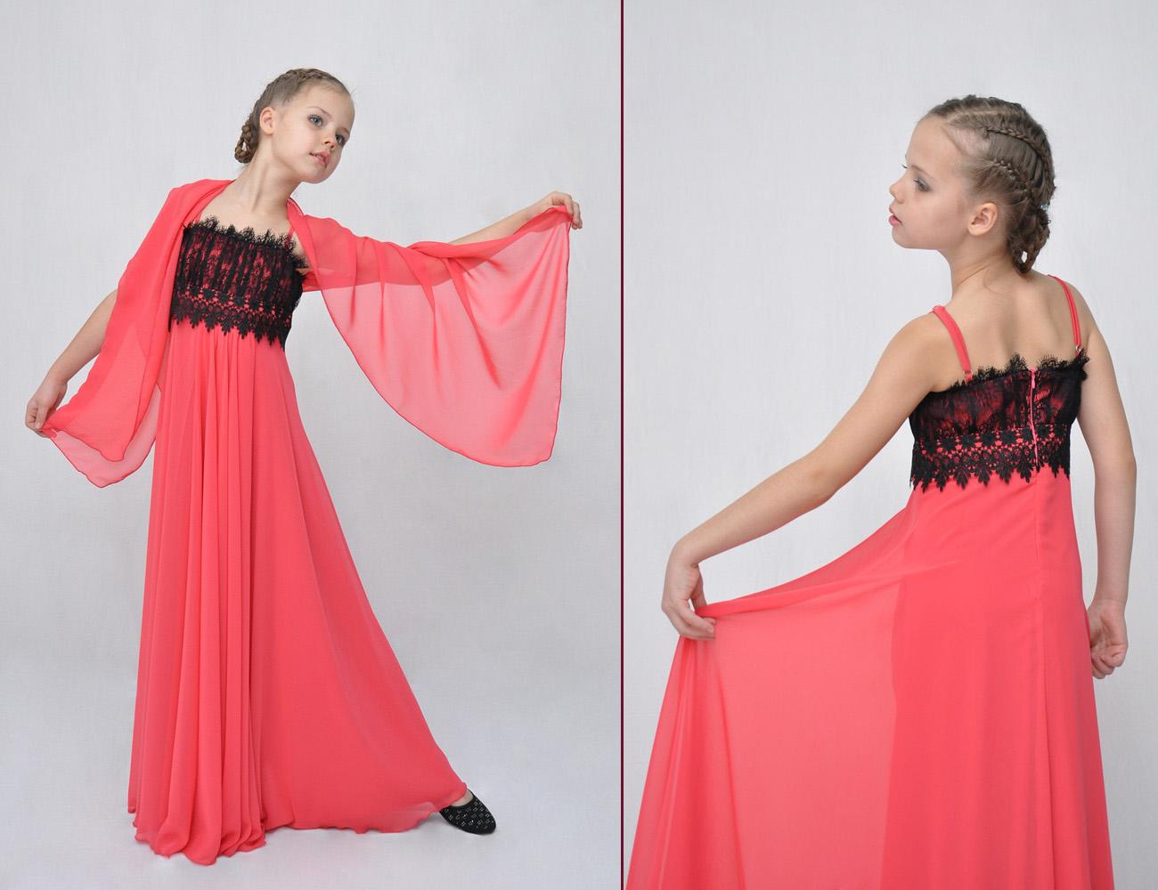 Платье Детское Длинное Купить