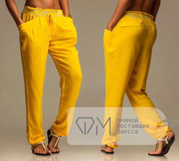 Легкие брюки на лето женские