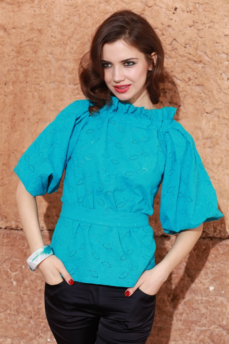 Блузка Из Шитья Купить