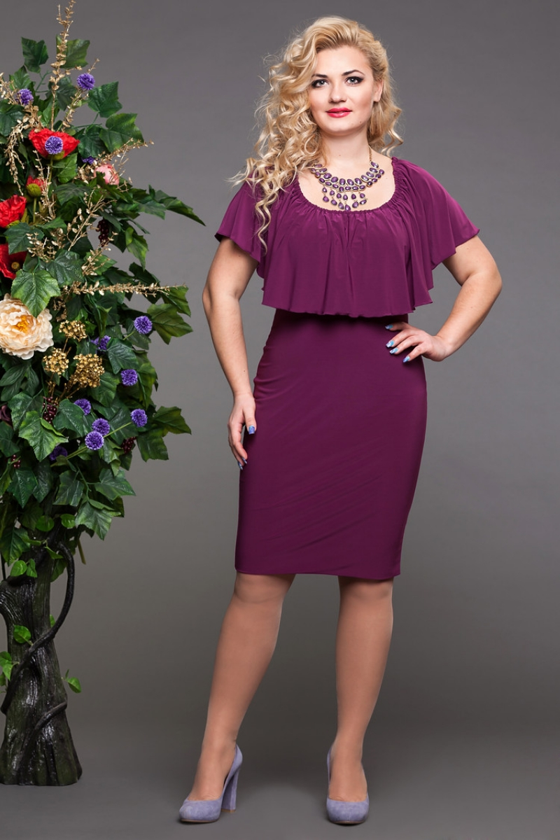 Мода для девушек 46-48 размера фото