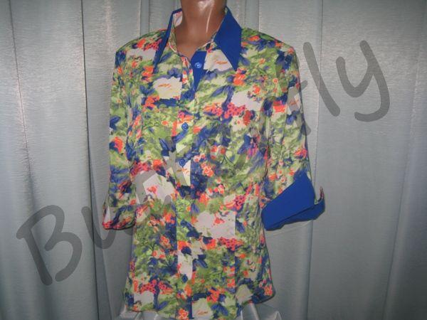 Блузки 56 Размера