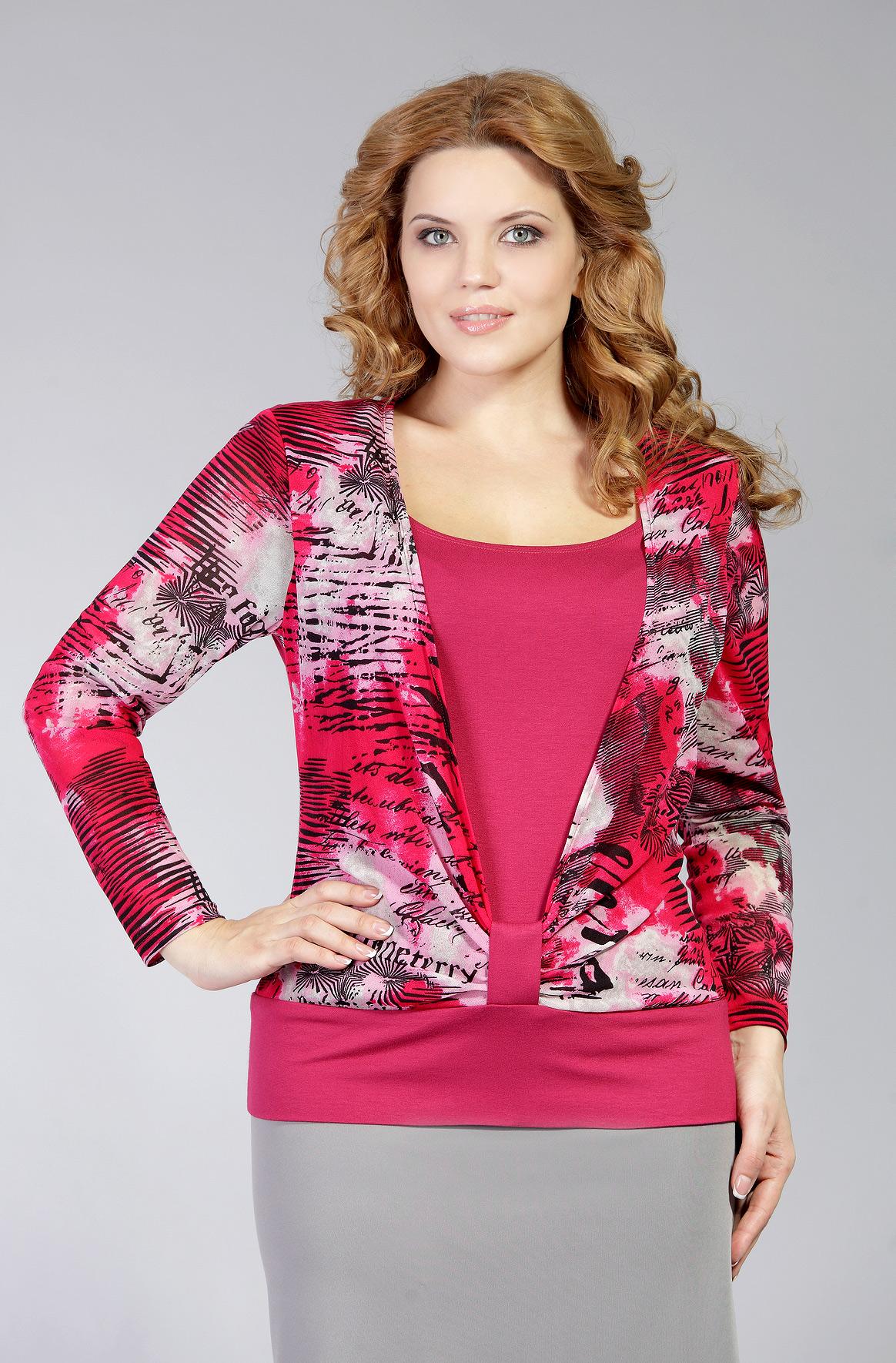 Трикотажные Блузки Для Полных Женщин