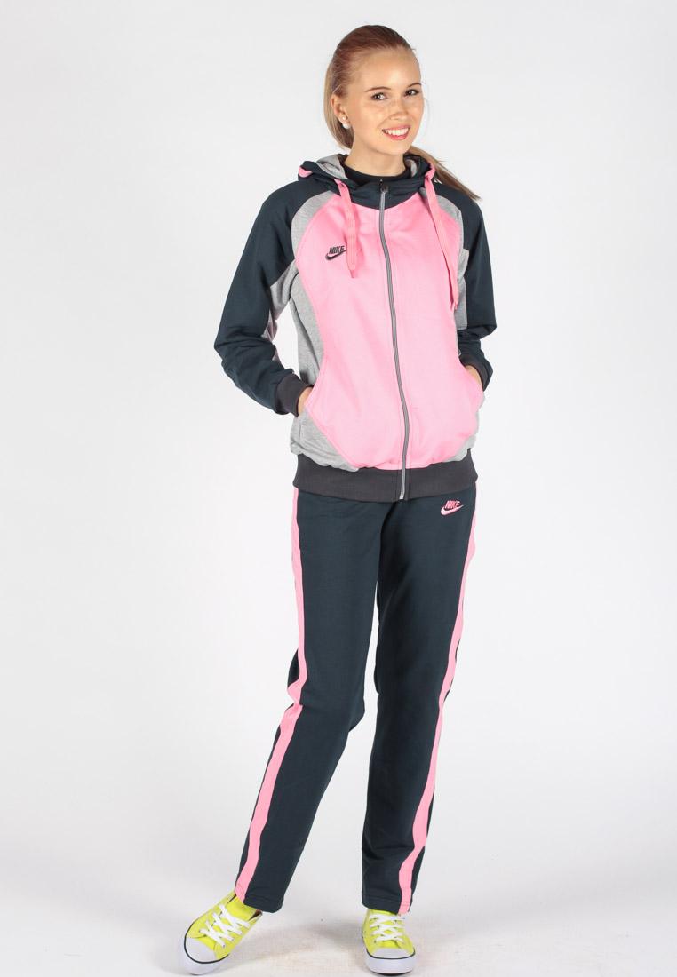 Женский спортивный костюм с толстовкой