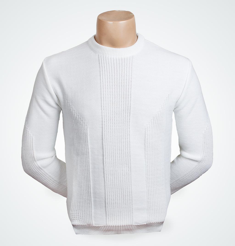 Купить Белый Джемпер Мужской Доставка