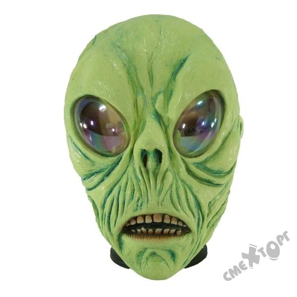 Как сделать маску инопланетянина из бумаги