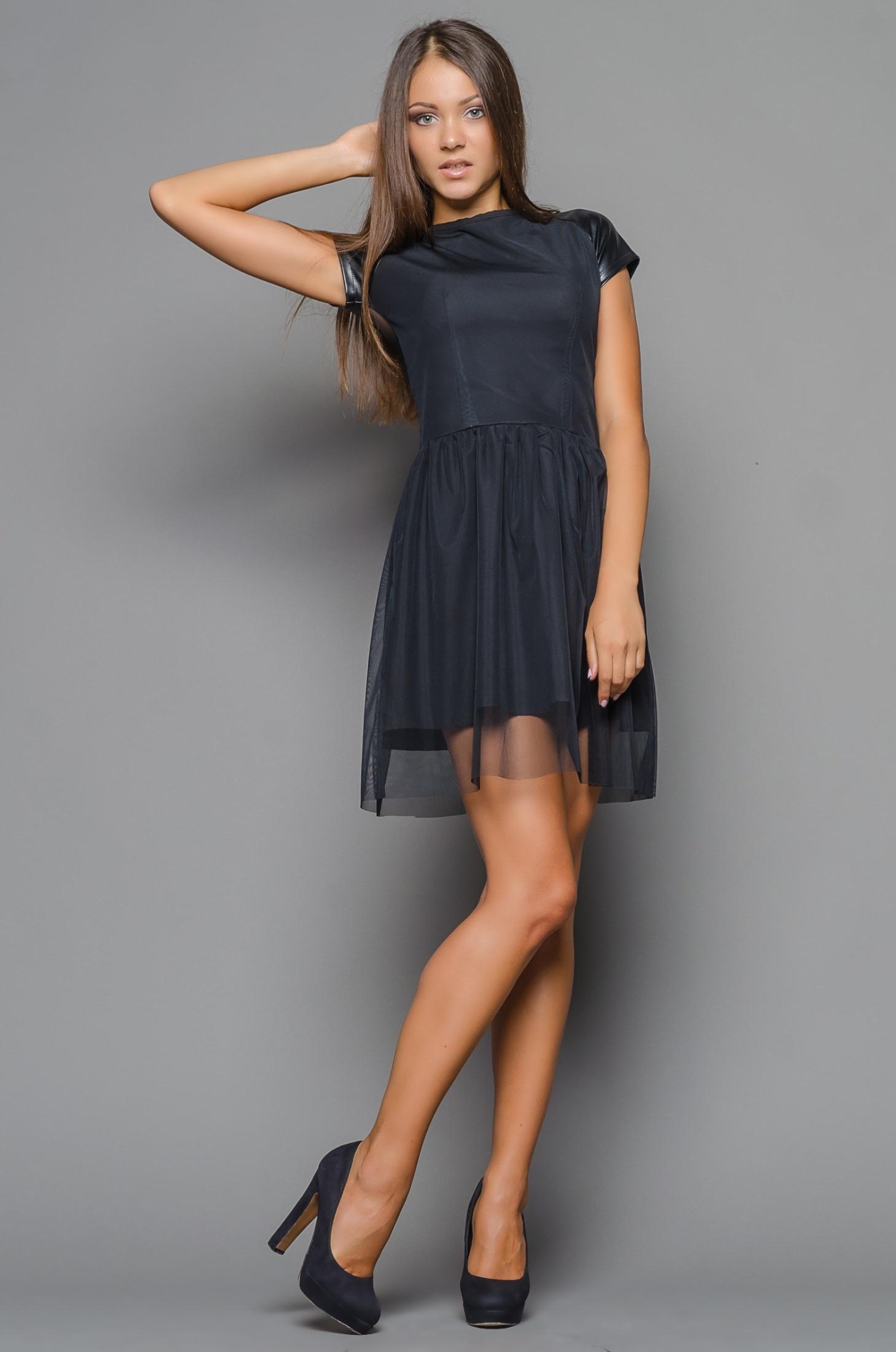 Фото в платье в сеточку 19 фотография