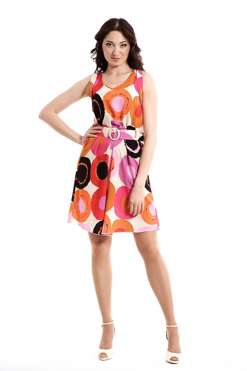 летние длинное цветное платье