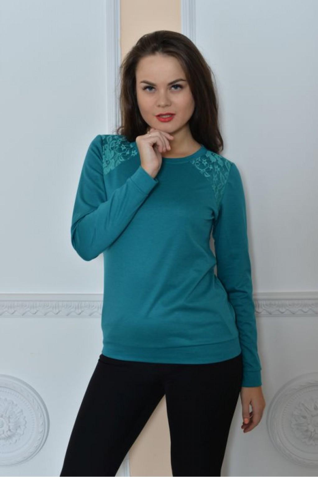 блузка из кружевного полотна с коротким рукавом своими руками