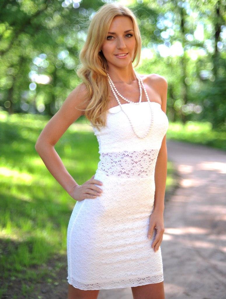 50 Красивые белые летние платья