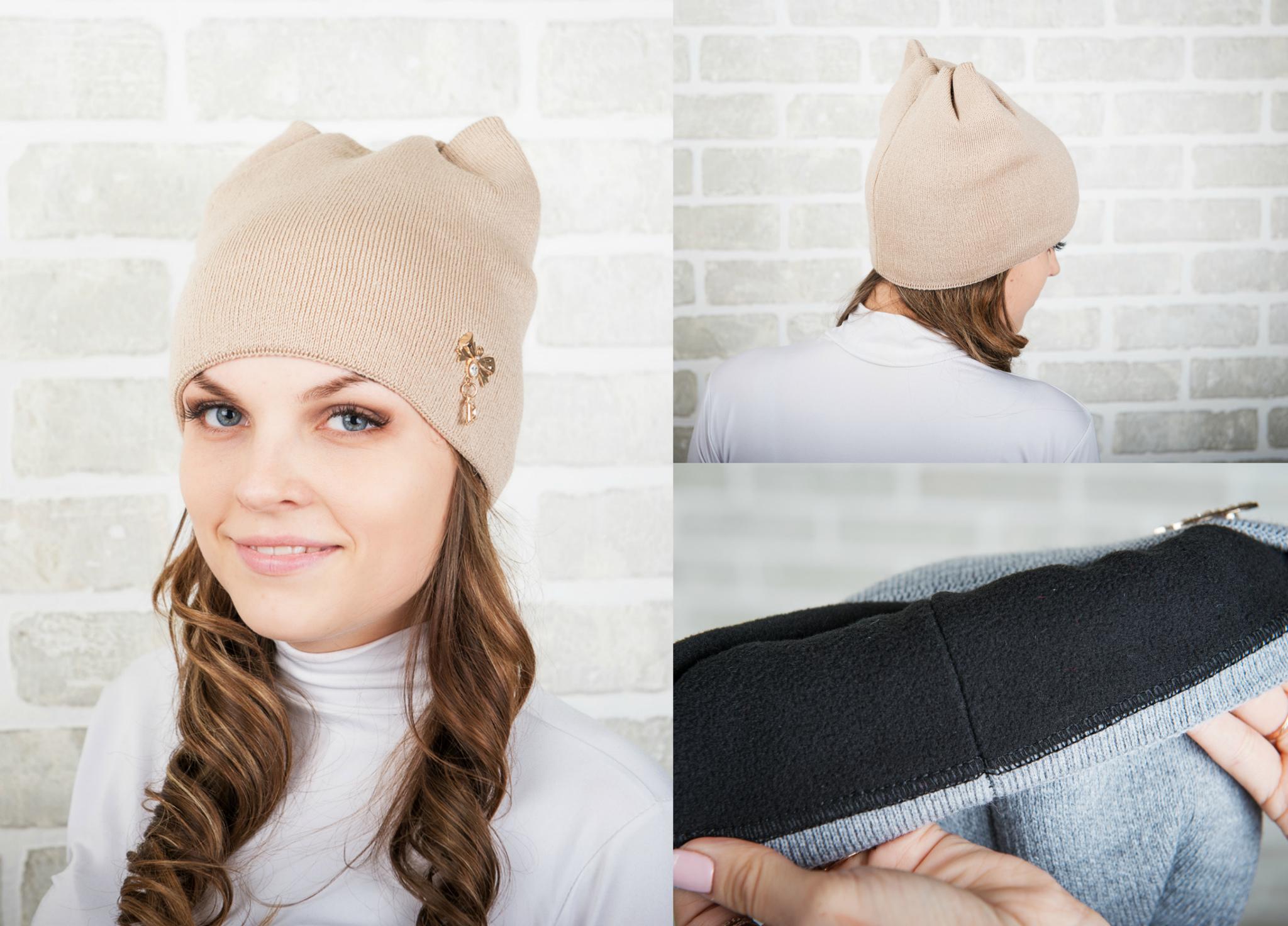 Как сшить шапку с ушками своими руками