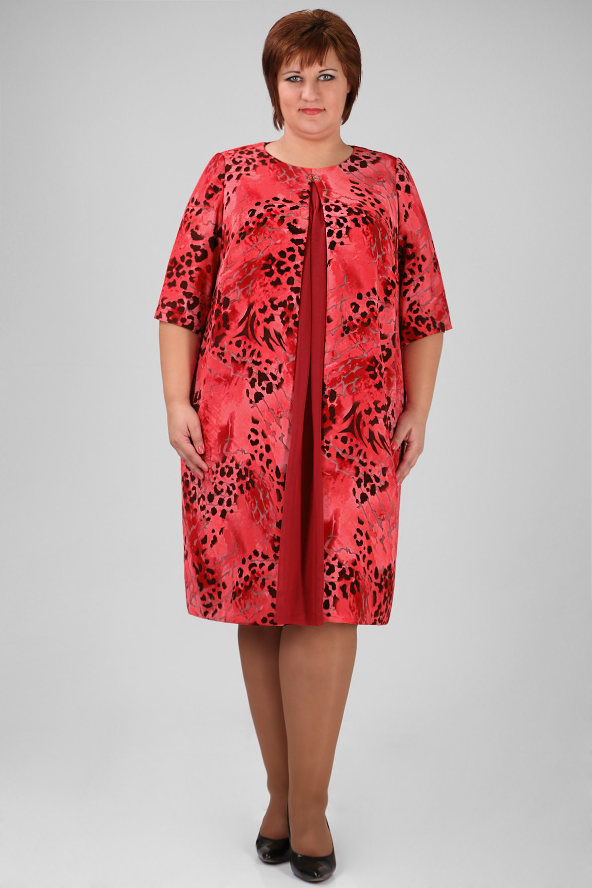 Мода Большие Размеры Женской Одежды Доставка