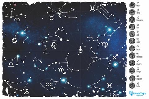 карта звездного неба для детей - фото 6