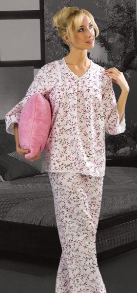 Сшить ночную пижаму своими руками