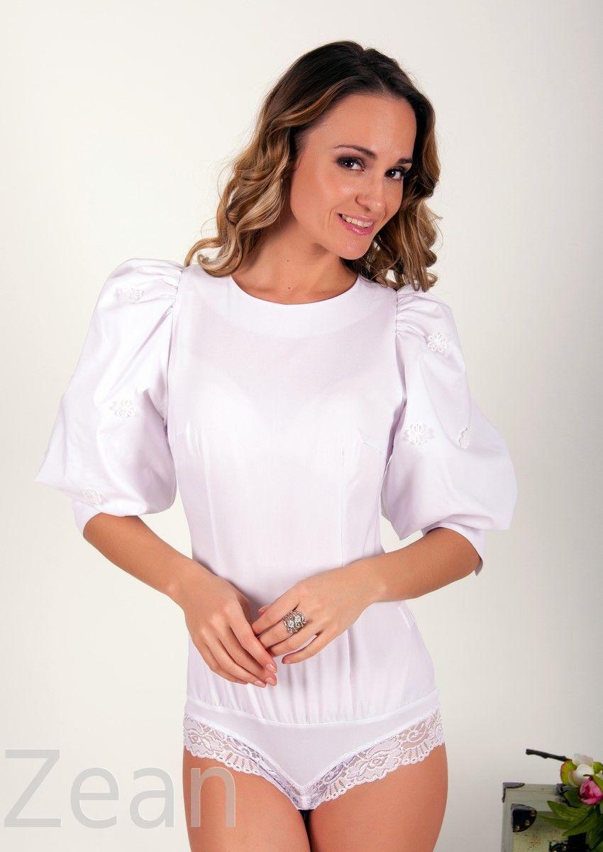 Белая Блузка Боди В Омске