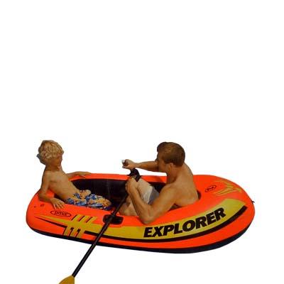 надувная лодка intex 58330 explorer купить
