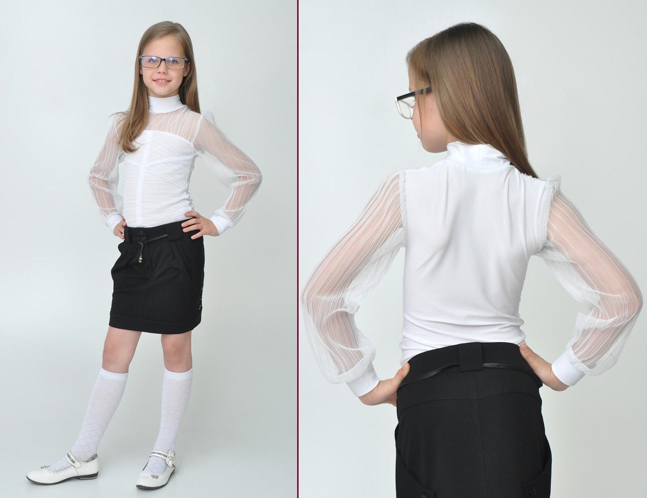 Школьная Блузка Для Девочки Волгоград