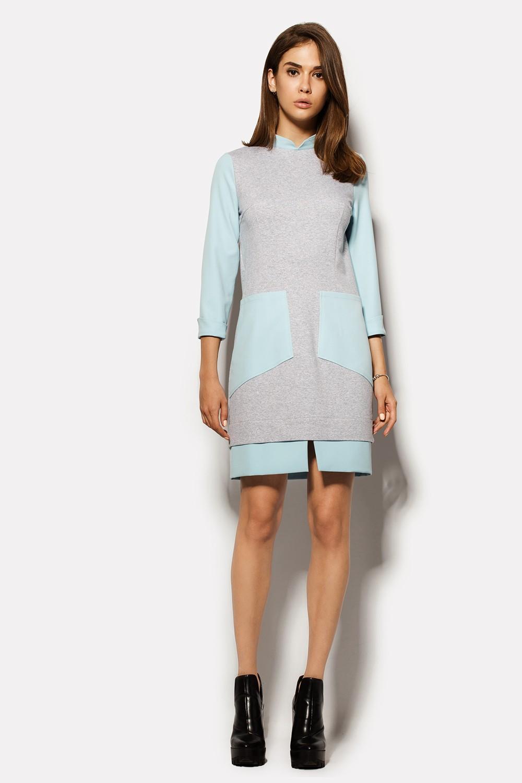 Модные платья с накладными карманами