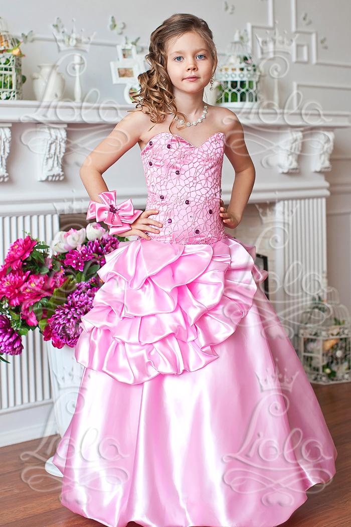 Детские платья оптом Нарядные платья для девочек оптом