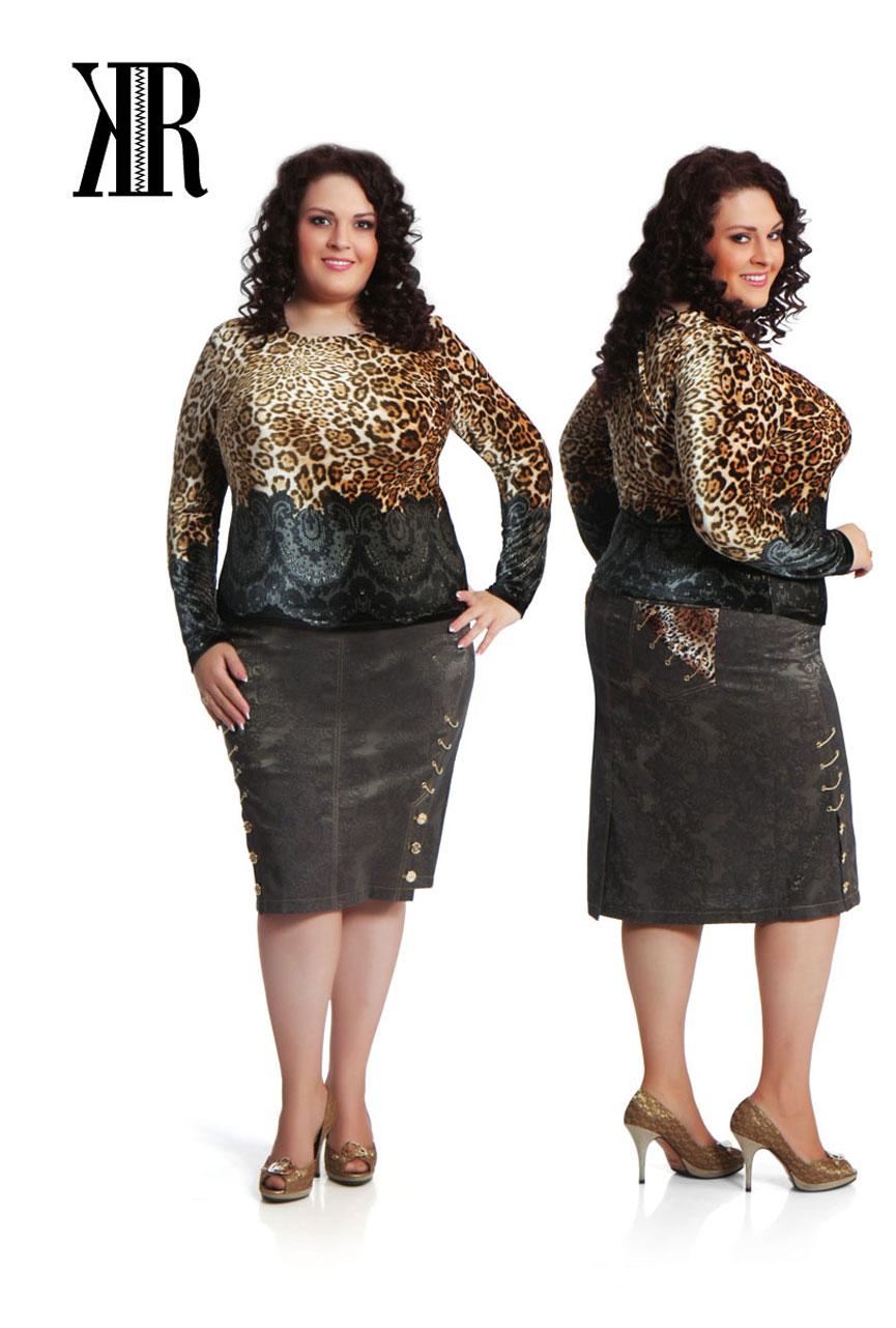 Одежда для полных женщин 2014 5