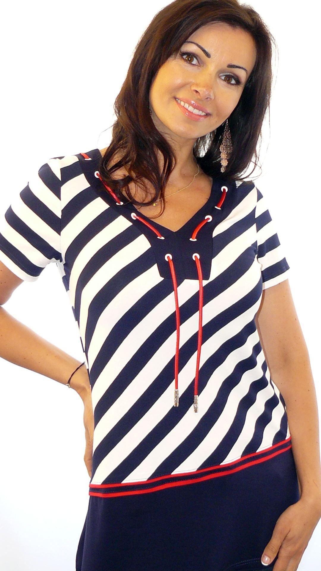 Женские трикотажные блузки доставка