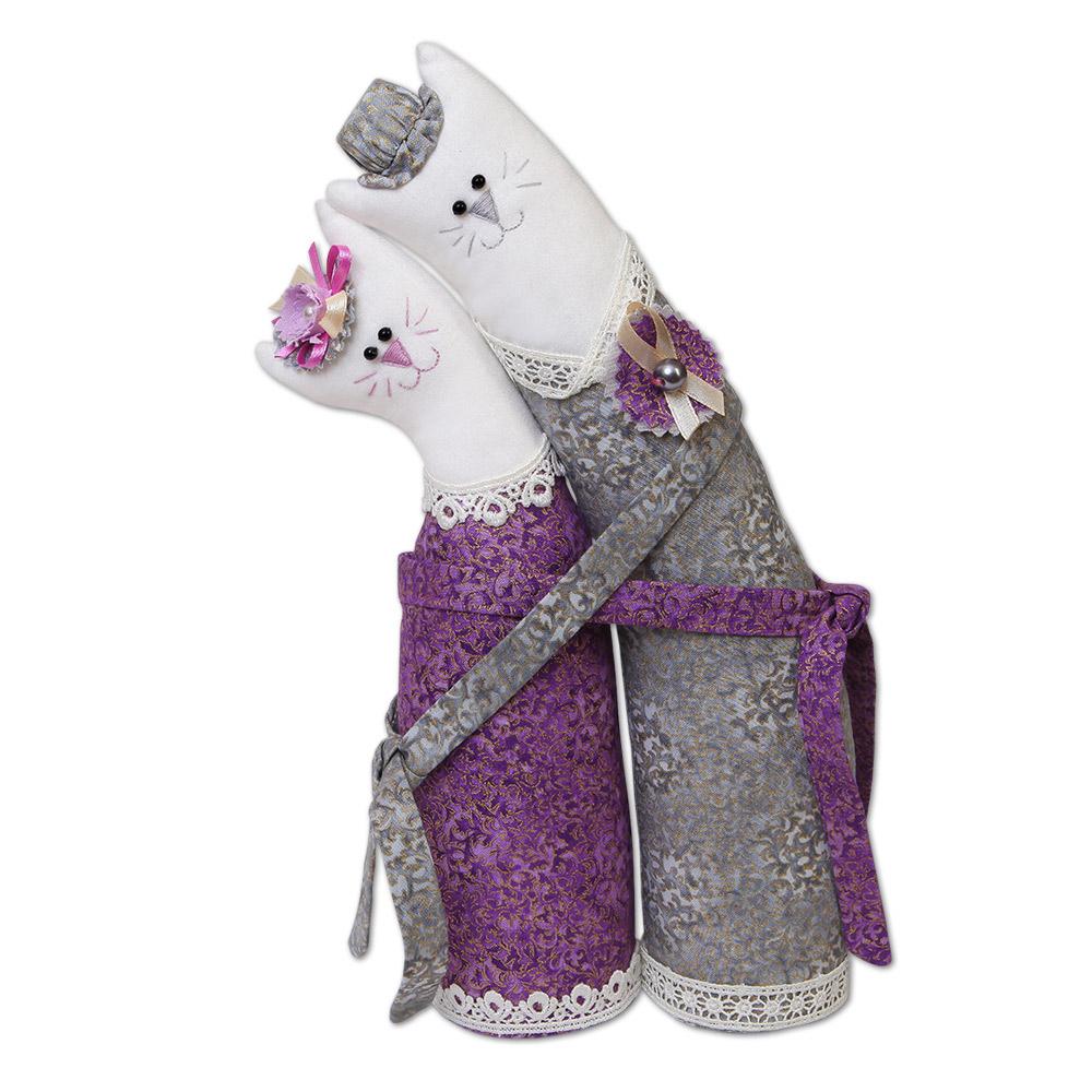 Мягкая игрушка своими руками коты обнимашки выкройка