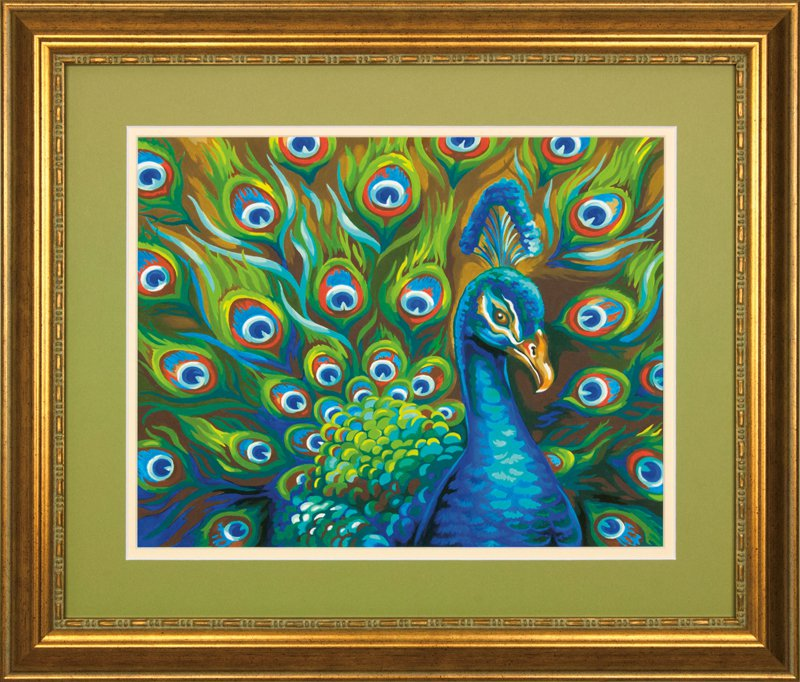 Рукоделие картины красками