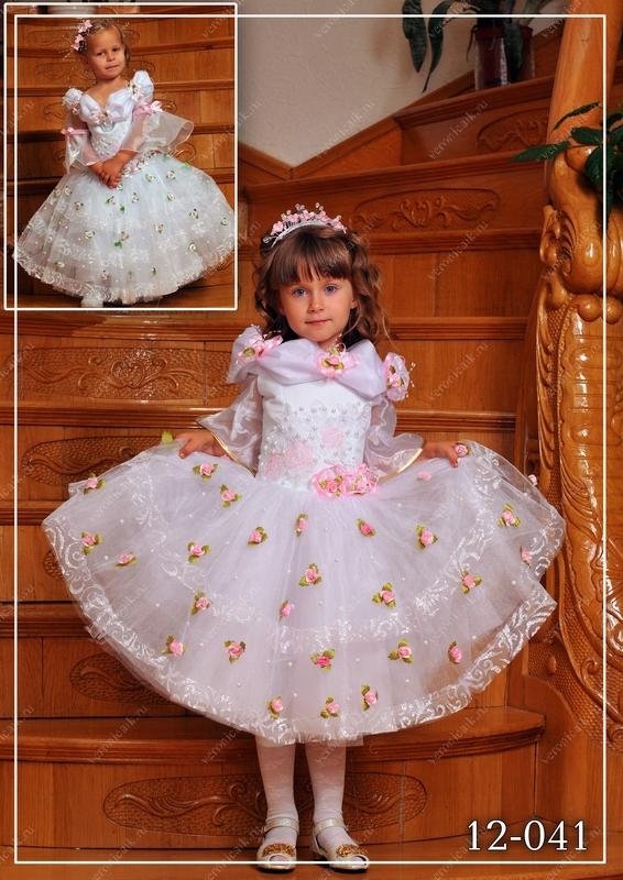 Праздничное платье для ребенка своими руками 97