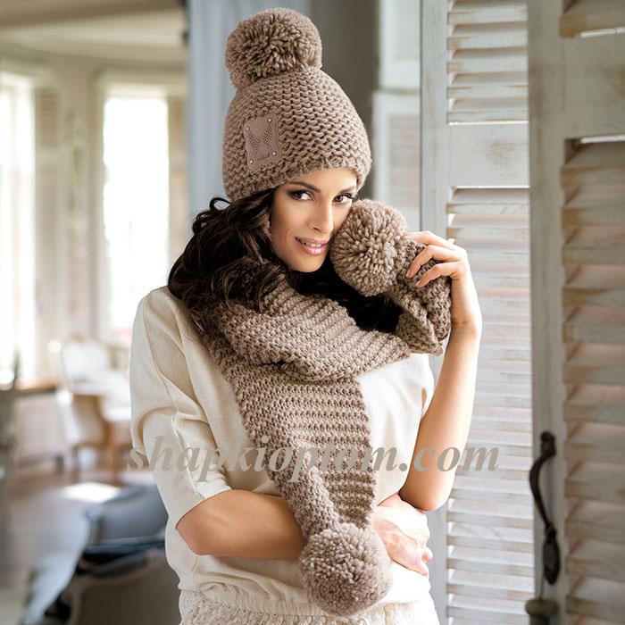 PETRA шапка+шарф.