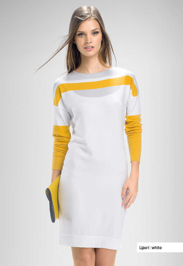 Kdj97 платье женское xs milk