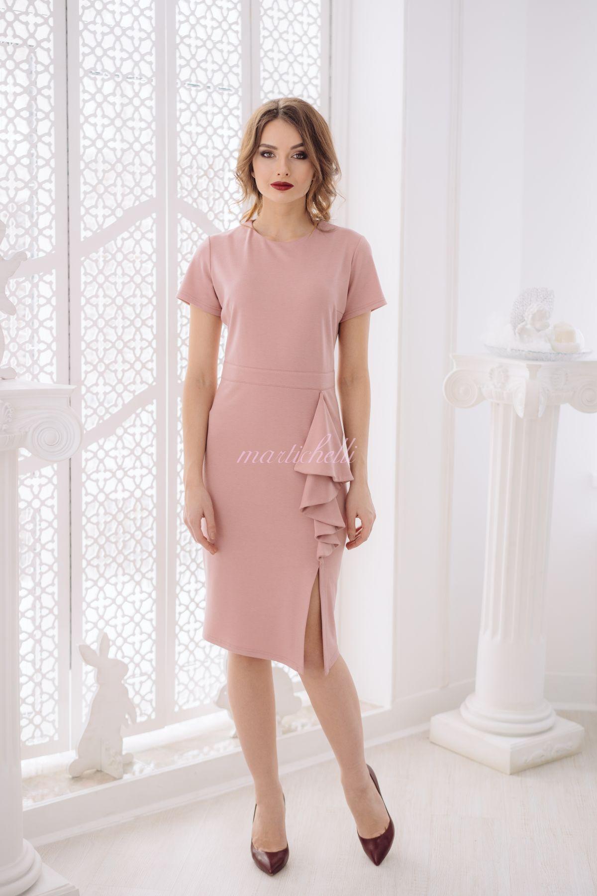 Длина платья при росте 86 см